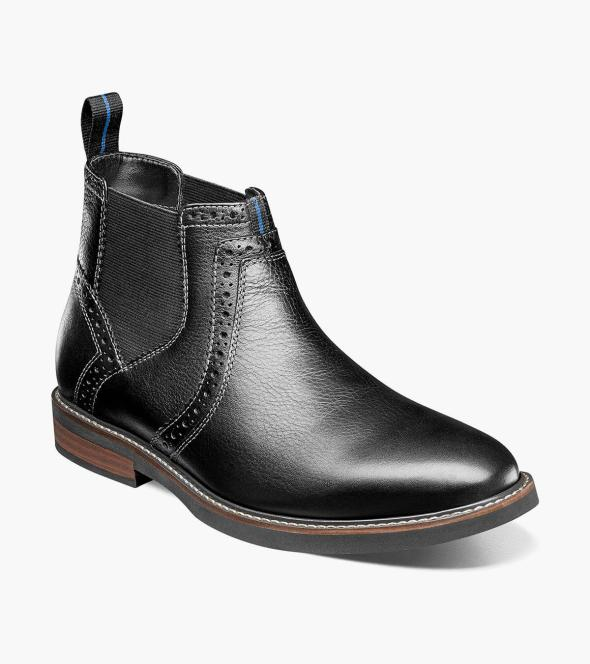 Otis Plain Toe Chelsea Boot