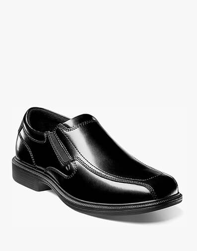 Bleeker Street Bike Toe Slip On in Black for $120.00