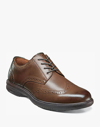 Maclin Street Wingtip Oxford in Brown for $87.90